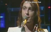 Fumble on TV the old Grey Whistle TEst